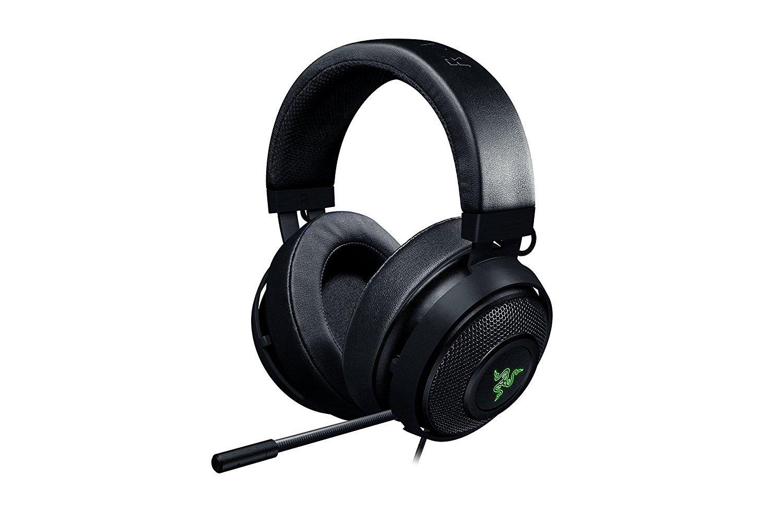 Razer Kraken Pro V2 Oval Cuffie da Gaming Analogiche Over-Ear per PC, Driver Audio da 50 mm e Struttura in Alluminio per Elevata Durata, Nero