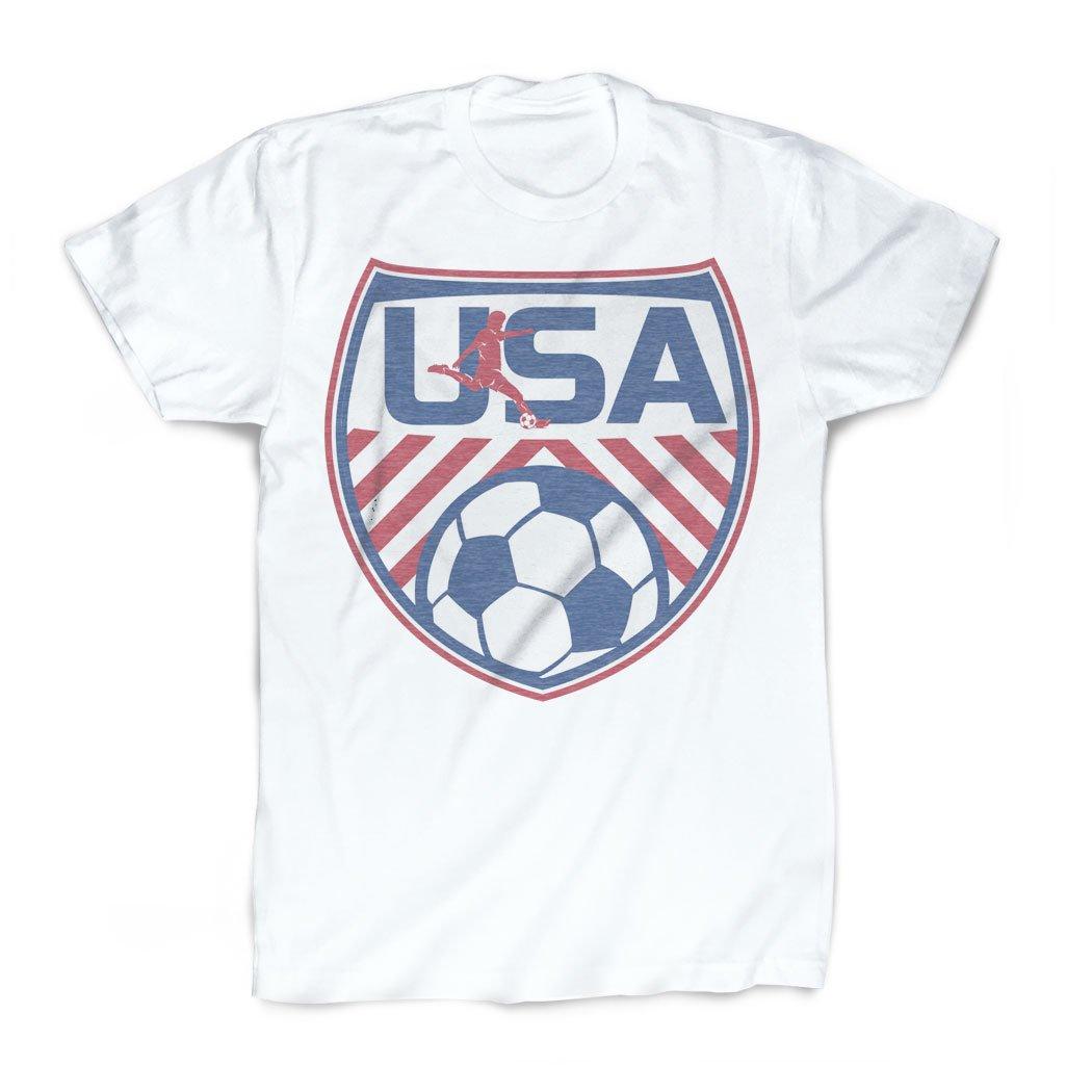 Usa Tshirt Vintage Faded Soccer Tshirt By Chalktalksports