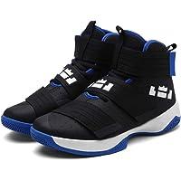 XSGE - Zapatillas de Baloncesto para Exteriores, duraderas, para niños pequeños y Grandes