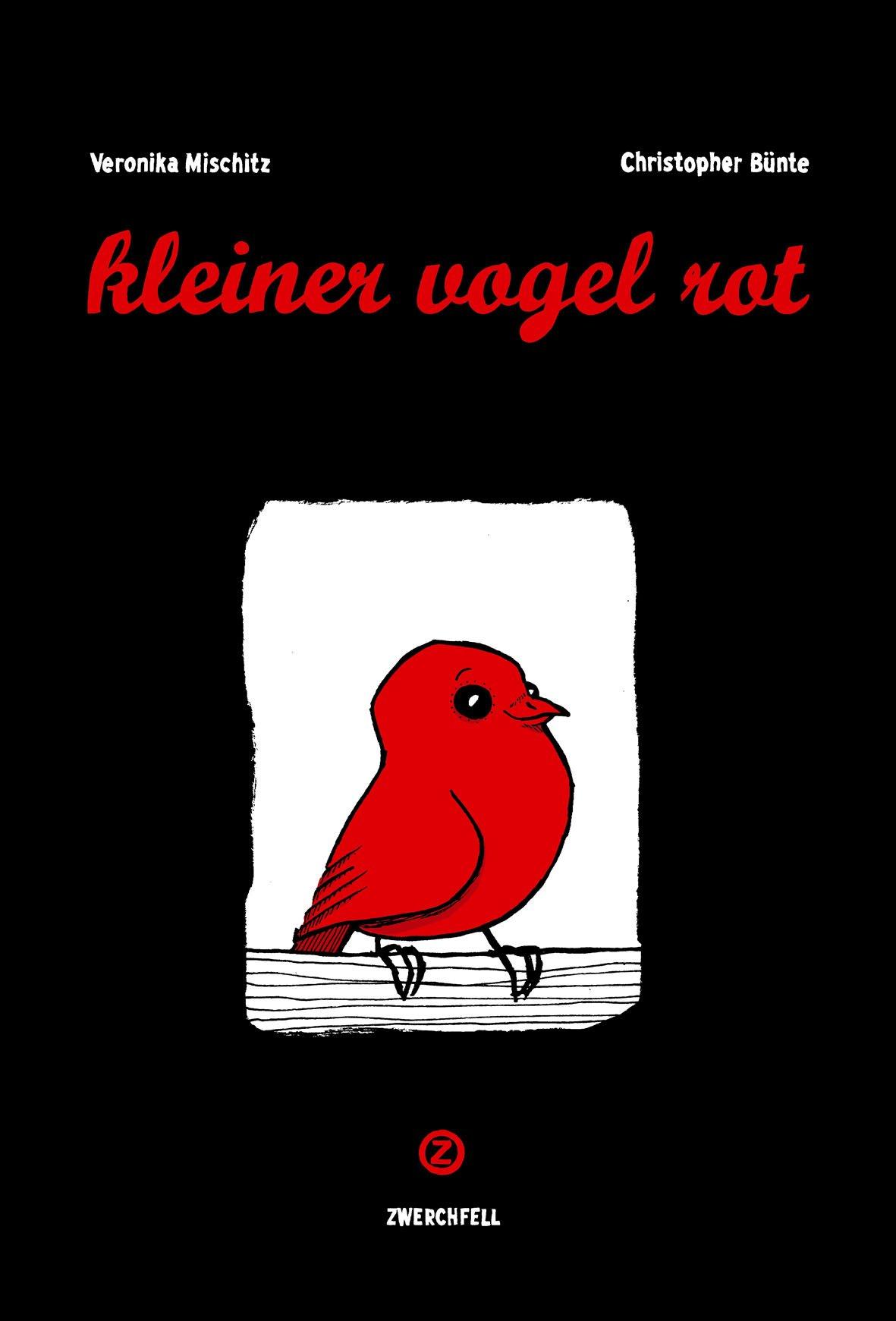 kleiner vogel rot