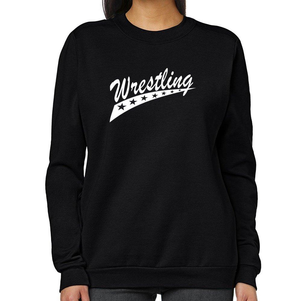 Teeburon Wrestling STAR Women Sweatshirt by Teeburon