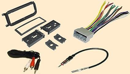 amazon com radio stereo install dash kit wire harness antenna rh amazon com