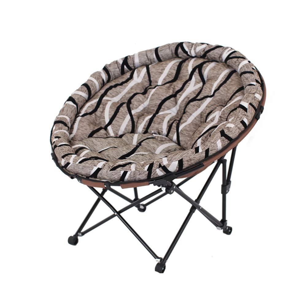 prezzo all'ingrosso Divano Divano Divano pigro Lazy Couch Folding Chair Home Chair Single Moon Sedia Lounge Chair Ufficio Pausa Pranzo Lounger Sleep (colore   Deep Coffee Planting 13)  consegna lampo