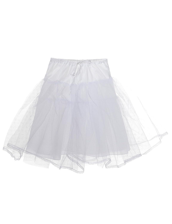 Remedios Children Hoopless Half Slip Flower Girls Petticoat/Crinoline Underskirt