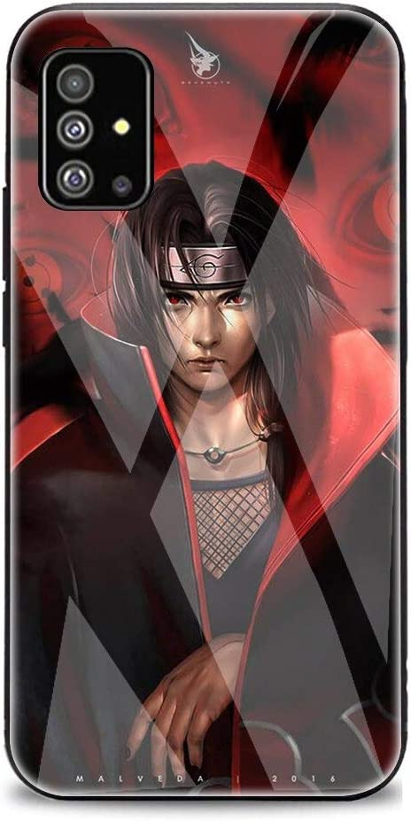 Amazon.com: The case for Samsung Note 20 Ultra Anime Naruto Itachi Uchiha Tempered Glass Phone Case for Samsung Note 10 Plus Lite S10 Plus S20 Plus Ultra A51 A71 (12, for Galaxy S10 Plus): Jewelry