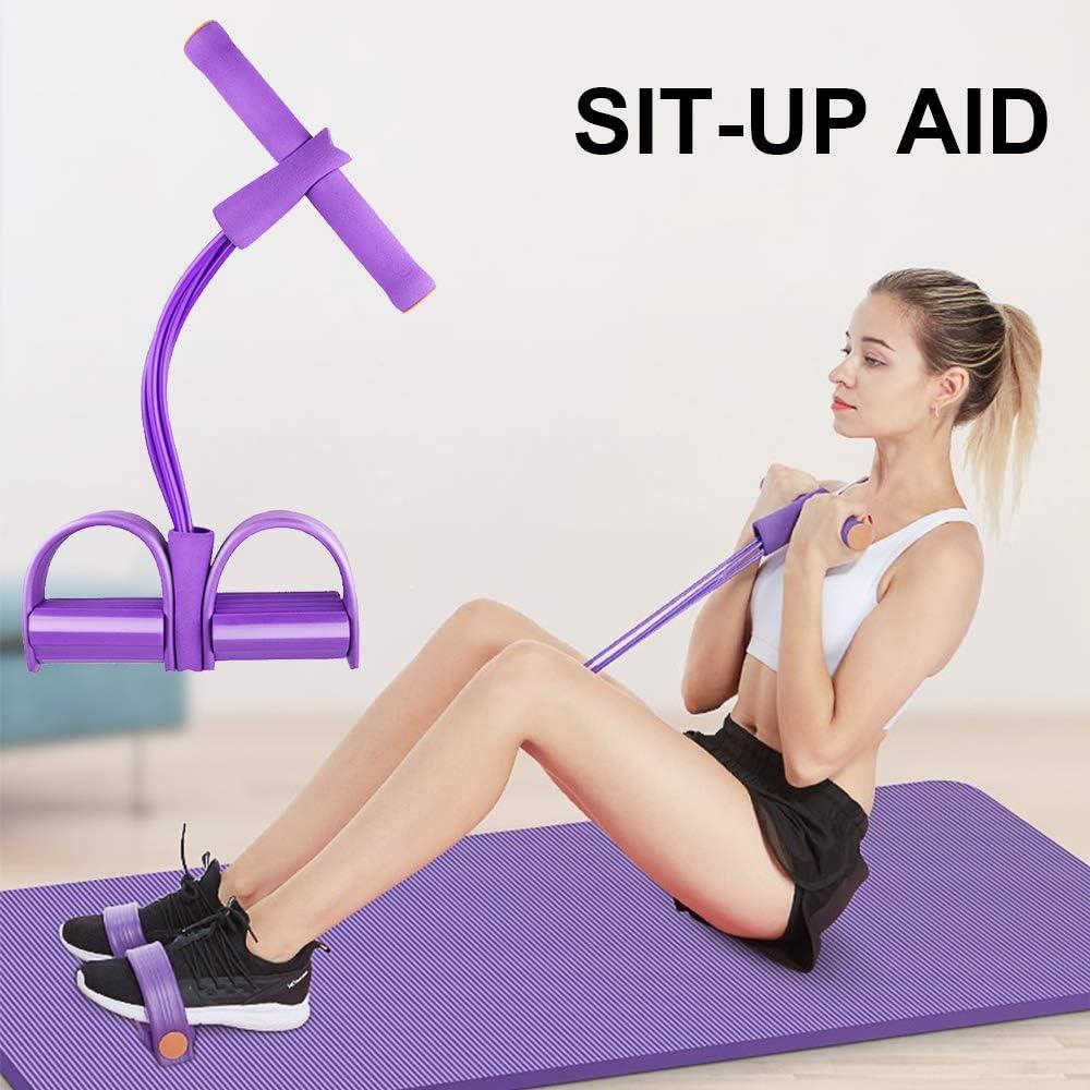 Sit-up Bodybuilding Expander f/ür Fitness//Schlankheitstraining Zubeh/ör Zuhause als Trainingsger/ät Soudittur Body Bauchtrainer Multifunktions-Leg-Exerciser Pedal Widerstandsb/änder