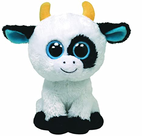 Amazon.com  Ty Beanie Boos Daisy The Cow  Toys   Games 4a9788b1ae01