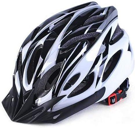 LIUDATOU Casco de Ciclismo Bicicleta Unisex Ciclo Cascos Protector ...