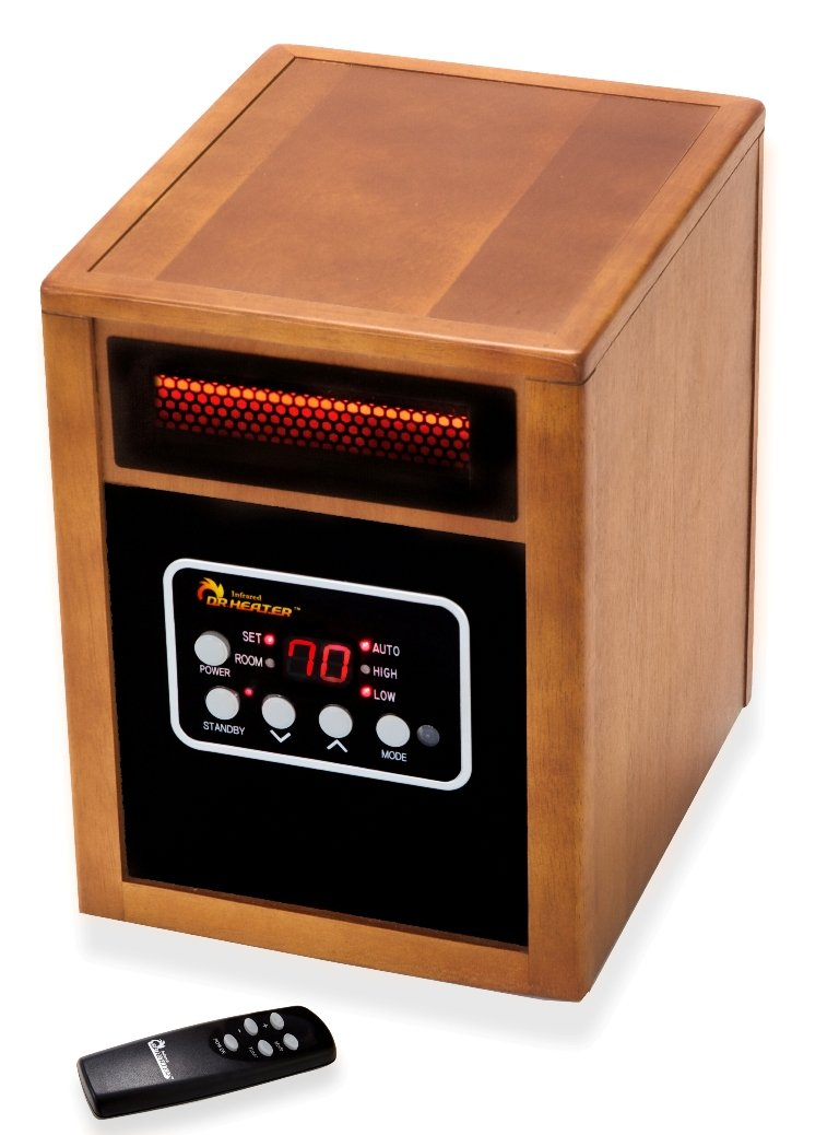 Dr Infrared Heater Portable Space Heater, 1500-Watt by Dr Infrared Heater (Image #2)