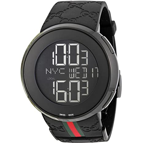 Gucci Reloj de Pulsera para Hombre XL Digital Caucho YA114207: Gucci: Amazon.es: Relojes