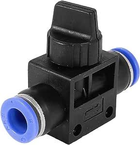 Sourcingmap a14070300ux0542 - Neumática de aire rápida de 8 mm de ajuste de presión de 8 mm en la válvula del ...