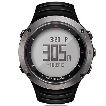 NORTH EDGE - Reloj deportivo digital para hombre (luz led, impermeable, con altí