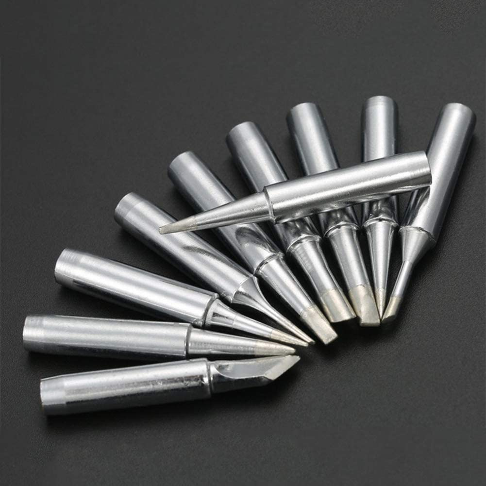 soldering tips 4 mm diameter oxygen free copper replacement Soldering tip Soldering equipment for welding 4C silver 2 pieces