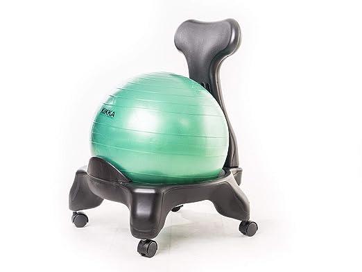 Kikka Active Chair Verde Esmeralda - Silla ergonómica con ...