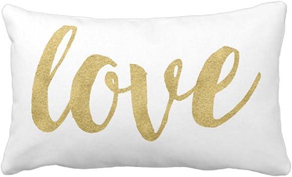 Amazon.com: emvency Throw almohada cover moderno mano ...