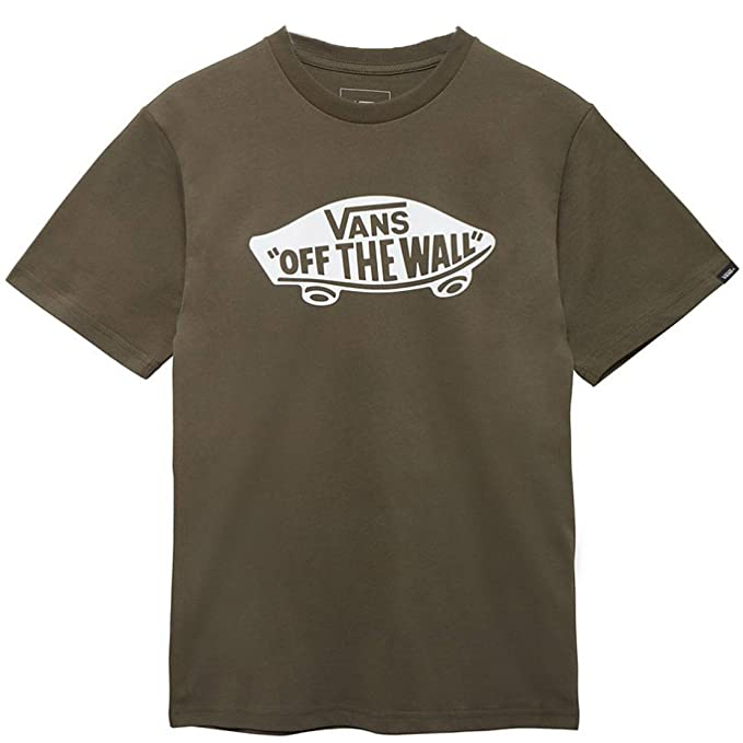657a11c179 Vans Grape Leaf-White OTW Kids T-Shirt  Amazon.co.uk  Clothing
