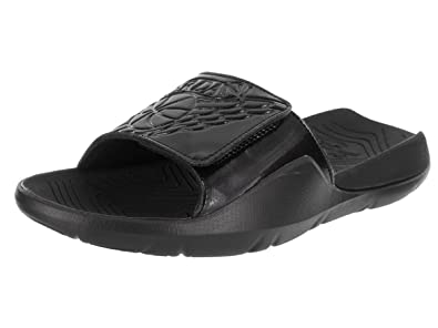 d9552ac37 Image Unavailable. Image not available for. Color  Jordan Nike Men s Hydro 7  Slide Black ...