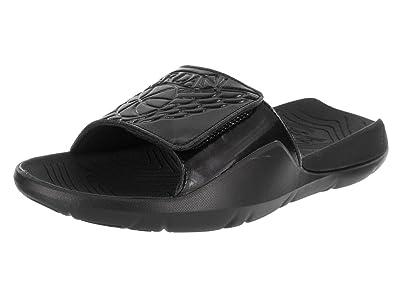 2fc098885ca9 ... norway jordan nike mens hydro 7 black black sandal 8 men us e3155 d2854