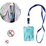 N\ A 4Pcs Air Purification Card with Lanyard Protection Card, Portable Air Purification Card Air Purification for…