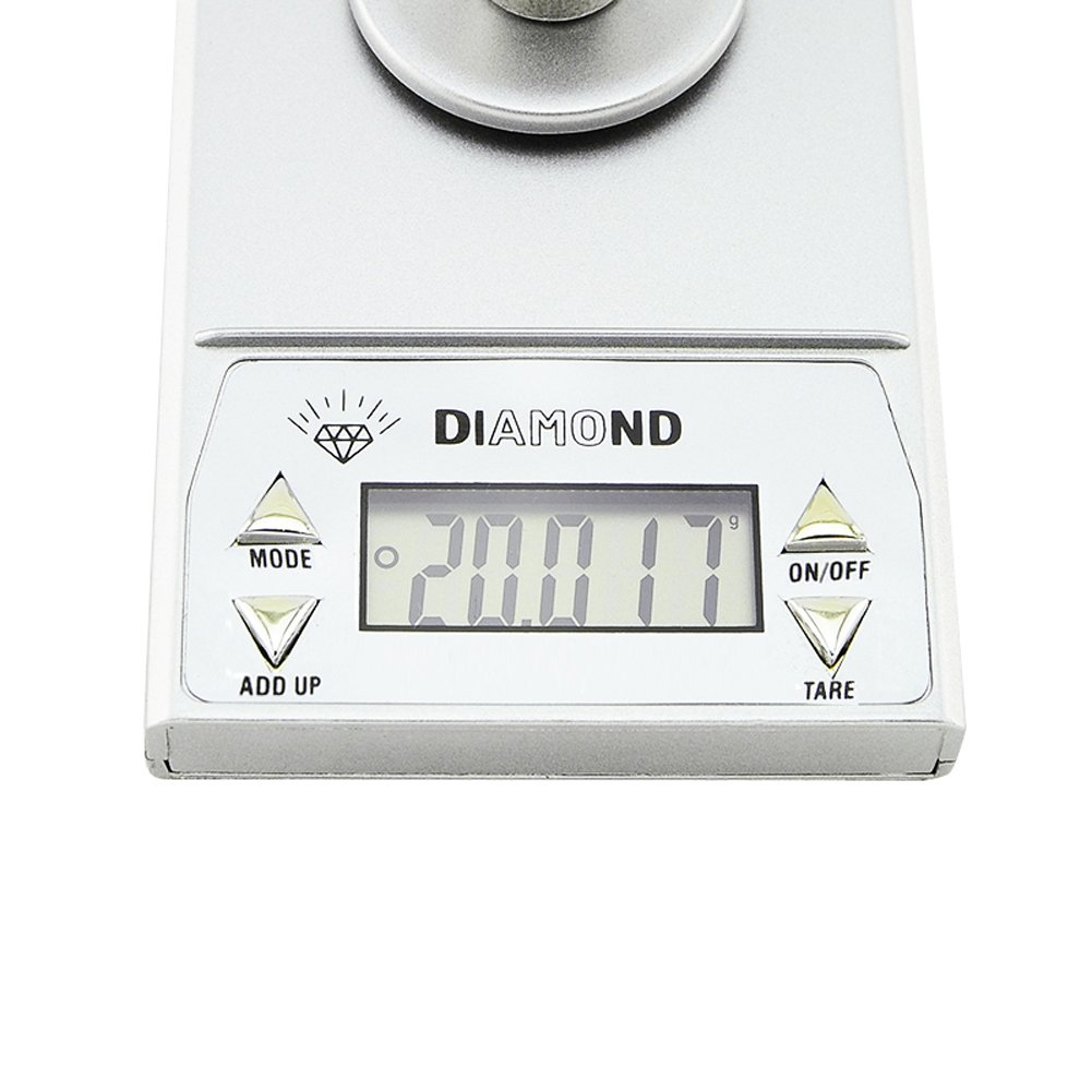 Careshine Mini Digital Pocket Gram Scale for Weighing Gems, Jewelry and materiels or medication20g x 0.001g
