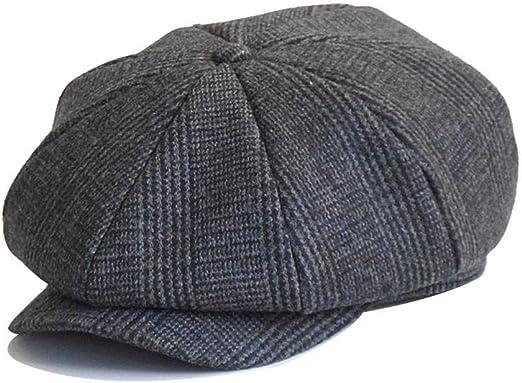 Letway Sombrero de Boina para, Hombre Algodón Ajustable al Aire ...