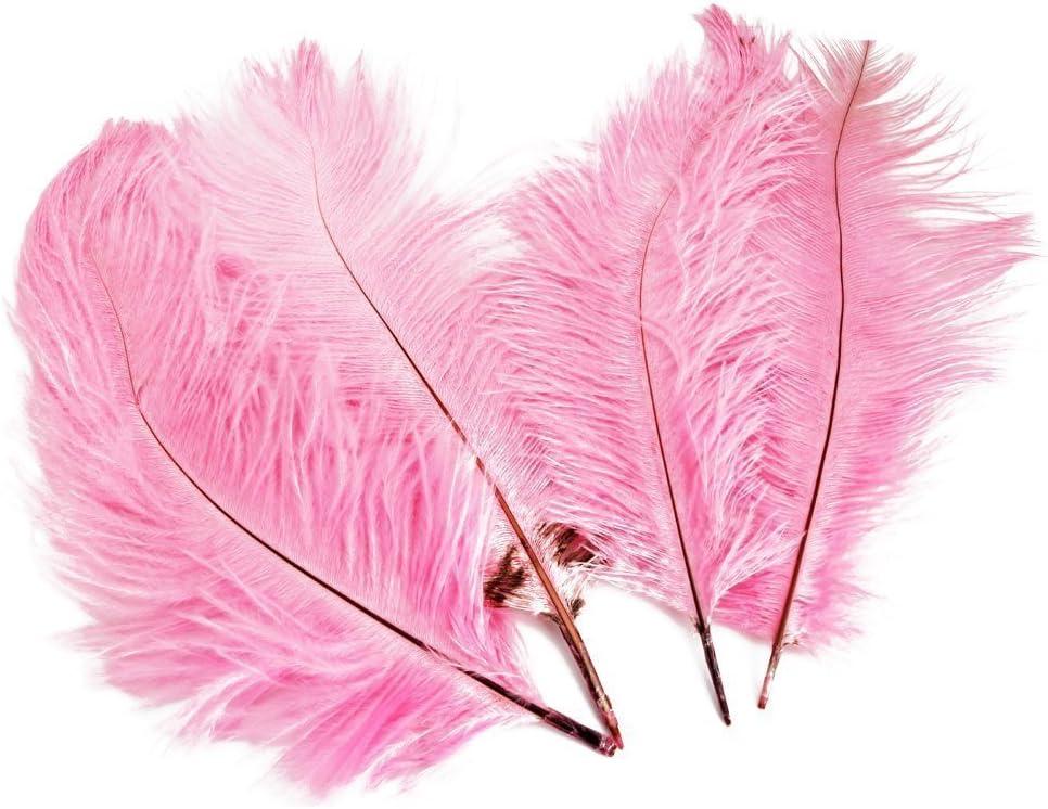 yeah67886 15 – 20 cm hermoso plumas de avestruz para sombrero ...