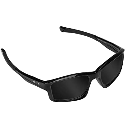 3e25d58678 CHAINLINK Replacement Lenses Polarized Black by SEEK fits OAKLEY Sunglasses  at Amazon Men s Clothing store
