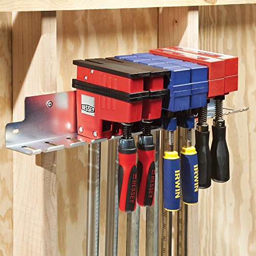 Mobile Clamp Rack - 24 in Parallel Clamp Rack