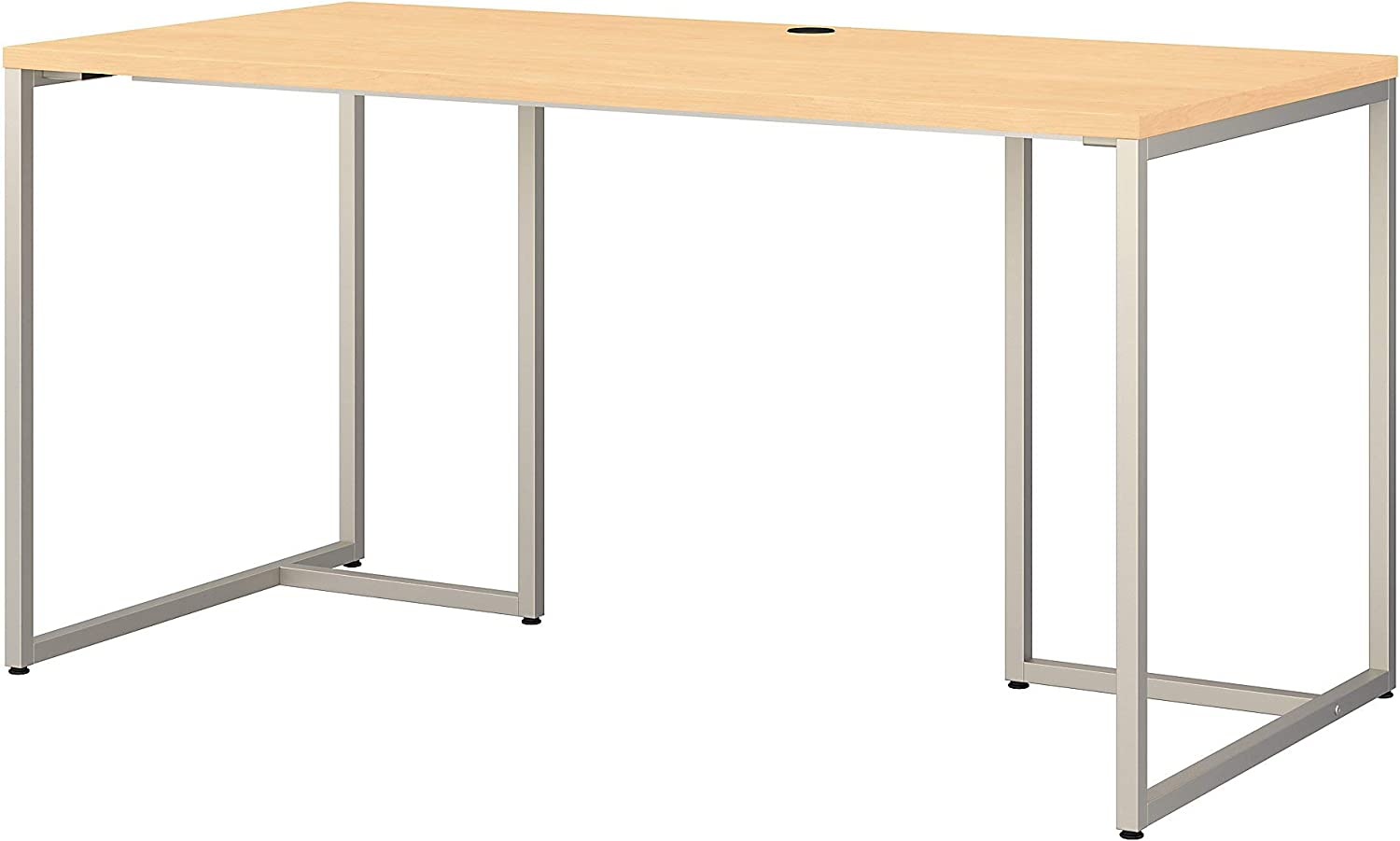 Bush Business Furniture Office by kathy ireland Method Table Desk, 60W, Natural Maple