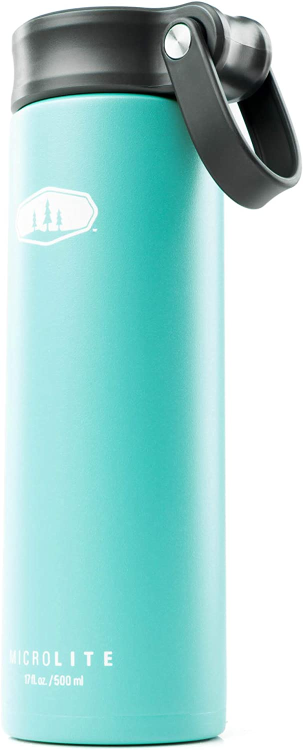 GSI Outdoors - Microlite 500 Twist 17 fl.oz. Vacuum Insulated Stainless Steel Water Bottle