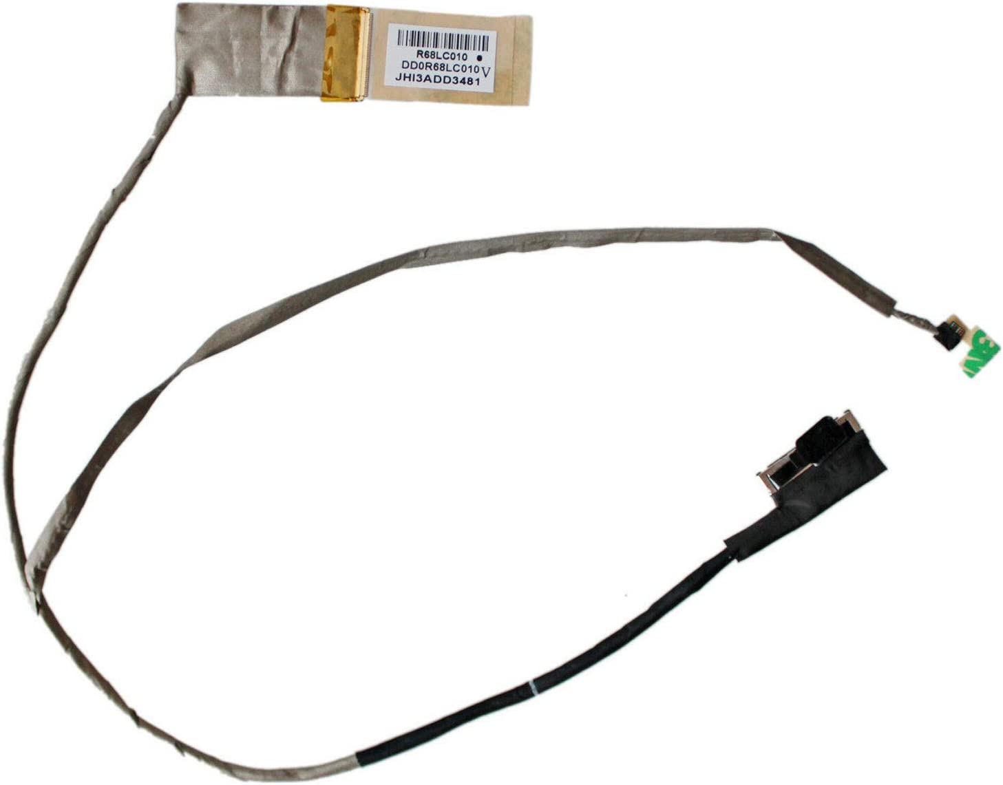 Todiys LCD LED Video Screen Cable for HP Pavilion 17-E 17T-E 17Z-E Series 17-E054CA 17-E055NR 17-E017CL 17-E017DX 17-E018DX 17-E121NR 17-E122CA 17-E155NR 17-E180NR 17-E123CL DD0R68LC010