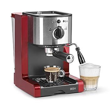 Cafetera Beem 02051 Espresso Perfect | Cafetera expreso para café molido (1350 W, 15