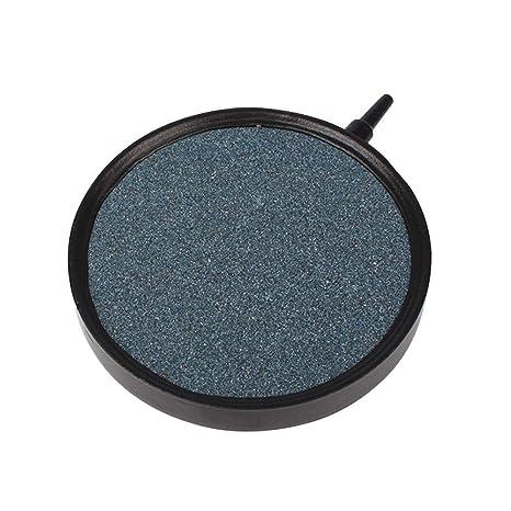 AUOKER - Piedra de Aire actualizada, con Burbujas, diseño Redondo, para peceras,