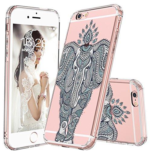 huge discount 83a30 d121d Amazon.com: MOSNOVO iPhone 6S Case/iPhone 6 Case, Mint Henna ...