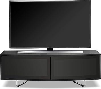 Homeology Caru - Mueble de TV con luz LED y Pantalla LCD de 32