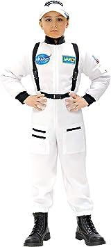 WIDMANN Widman - Disfraz de astronauta para niño, talla M (8-10 ...