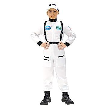 WIDMANN Widman - Disfraz de astronauta para niño, talla M (8-10 años) (W1100-M)