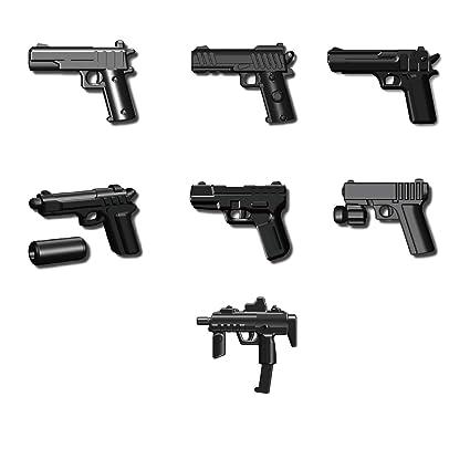 Amazon Custom Pistol Pack Designed For Lego Minifigures Toys