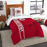 Northwest Cincinnati Reds Mlb Twin Comforter Bed In A Bag (soft & Cozy) (64in X 86in)