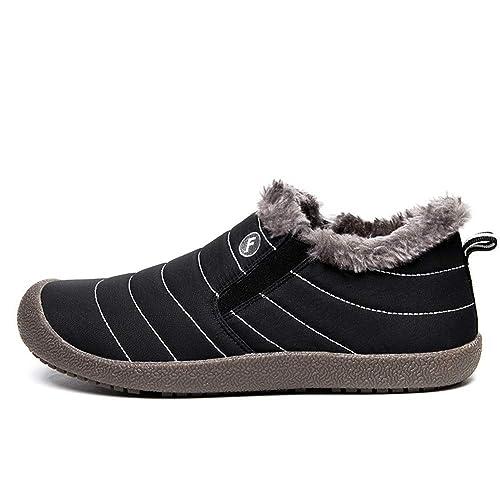 Amazon.com: cici Zapatos esponjosos de piel sintética ...
