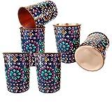 Rastogi Handicrafts Pure Copper one Jug with Six