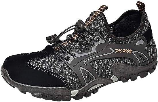 ZODOF zapatillas deportivas hombre Zapatos de agua Deportes Secado rápido Buceo Nadar Navegar Aqua Walking Surf Yoga running shoes(41 EU,Negro): Amazon.es: Bricolaje y herramientas