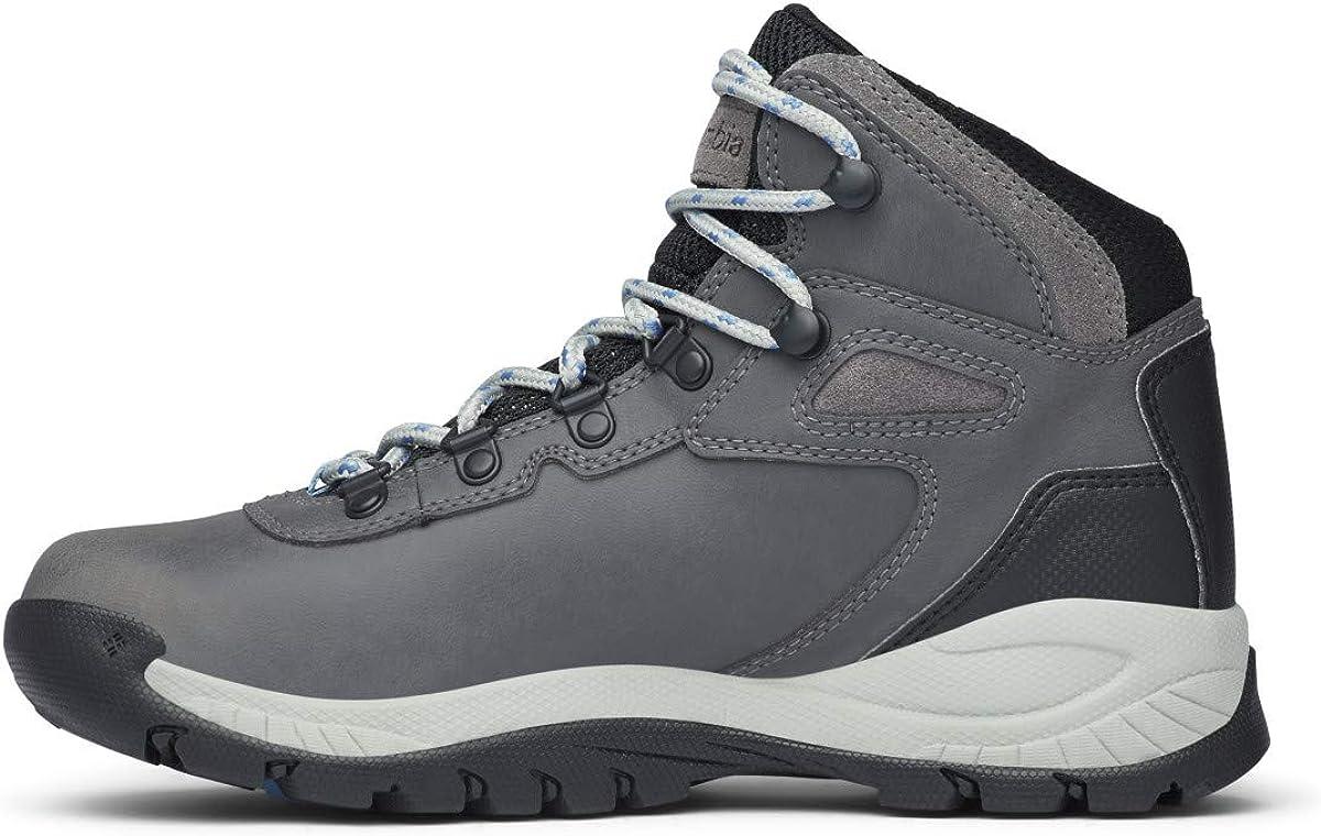 6.5 Wide US Quarry//Cool Wave Columbia womens Newton Ridge Plus Waterproof Hiking Boot