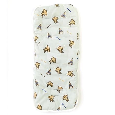 Cojín de algodón para cochecito de bebé, almohadilla de asiento para cochecito de bebé,