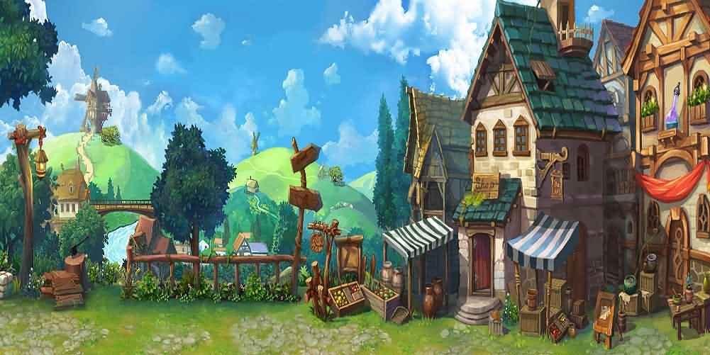 GladsBuy美しい町20 ' x 10 'コンピュータ印刷写真バックドロップハウジングテーマ背景acp-237   B076HVR68N
