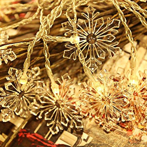Led 3D Snowflake Christmas Light - 6