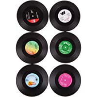 Chinatera Useful Vinyl Coaster Cup Drinks Holder Mat Tableware Placemat(6pcs)