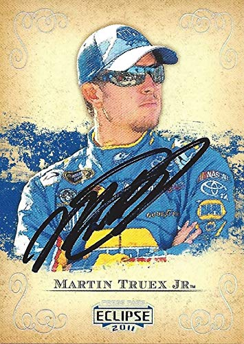 AUTOGRAPHED Martin Truex Jr. 2011 Press Pass Eclipse Racing (#56 NAPA Auto Parts Team) Michael Waltrip Racing Sprint Cup Series Signed NASCAR Collectible Trading Card with COA