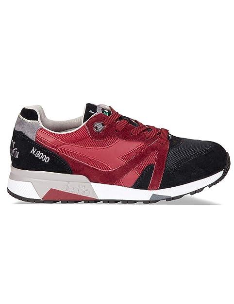 Zapatillas DIADORA N9000 ROJA Hombre 41 Rojo