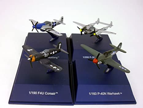 Amazon com: World War II American Fighters Diecast Metal Collection